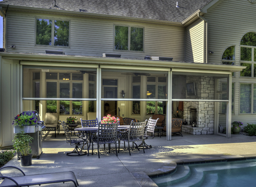 Outdoor Rooms Designs Accents Features Screens Chesterfield Mo