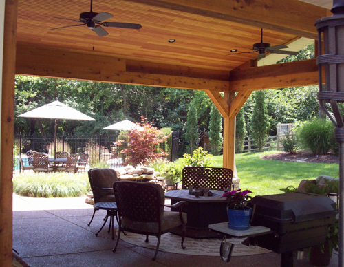 Patios Porches Amp Pergolas Outdoor Rooms Chesterfield