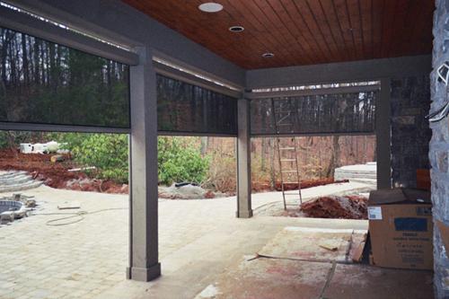 Retractable Solar Screen Walls Doors Windows