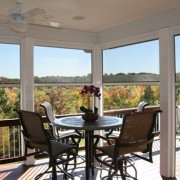 Fully Retractable Screen Room - Commitment to Quality is Shown by Heartlands Home Building Company