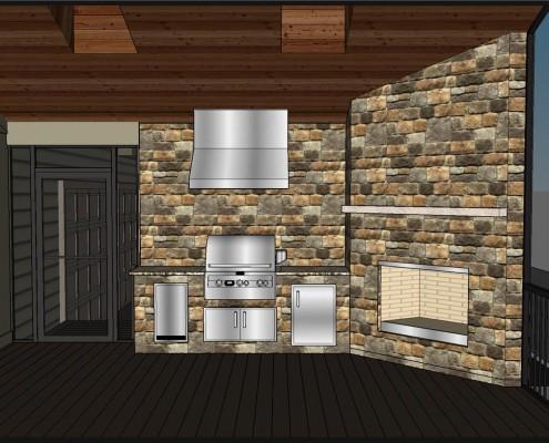 Fireplace Rendering