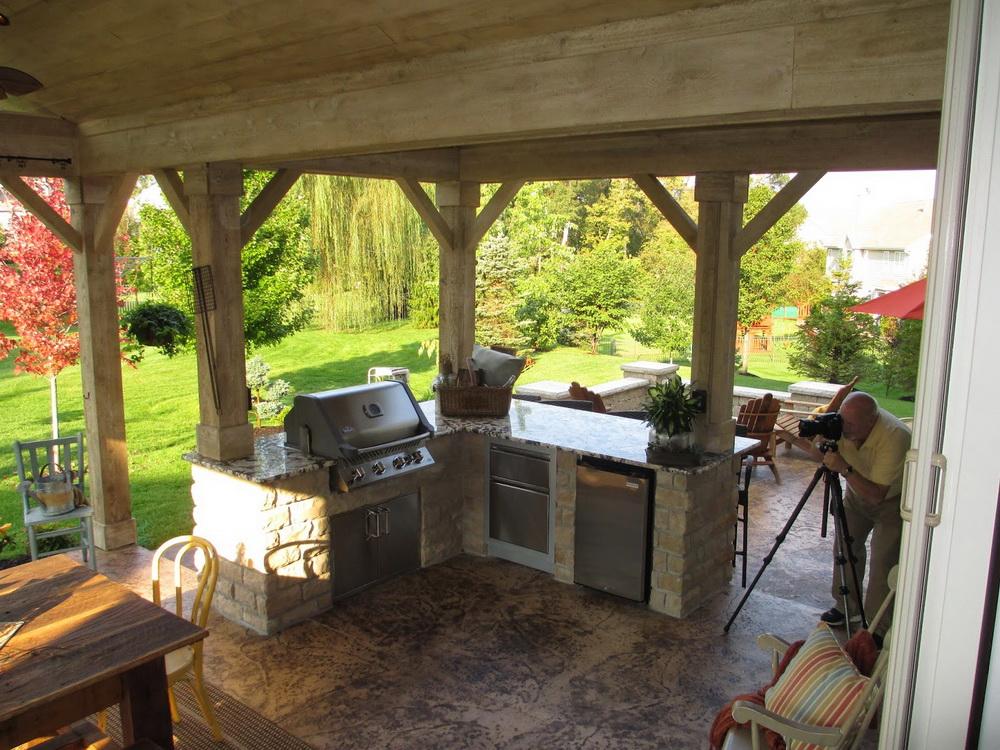 Beautiful And Practical Outdoor Room Heartlands Building