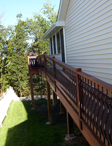 Decks Railing Amp Staircases Custom Design Chesterfield