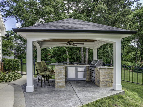 Outdoor Kitchens - Grilling Area, BBQ, Fireplaces ...