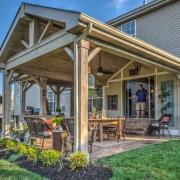 Open Gable patio cover