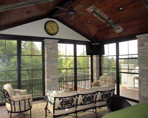 Gorgeous Outdoor Room - Attention to Details by Heartlands Home Building Company, Missouri, USA