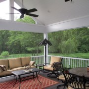 Gorgeous Screen room addition built by Heartlands Home in North St. Louis County