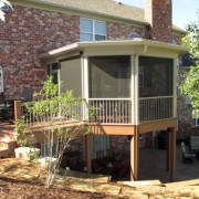 St. Albans Custom Screen Room, Deck , and Patio
