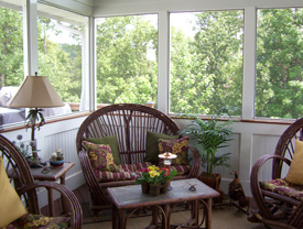 Get exactly what you want - Custom home design, renovation or additions. Screened in outdoor living space, porches and more.