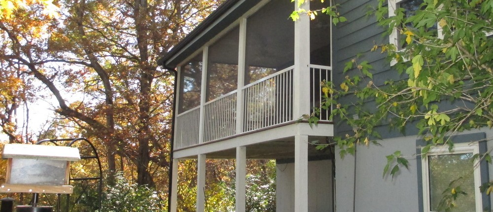 Another Happy Customer - Back Porch Renovations and Improvments - Additions on Residential Property by Heartlands Home, Pacific, Missouri, USA