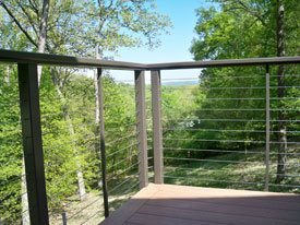 Porch Deck Surface & Railing projects by Heartlands Home Builders are treated with as much attention to detail and care as larger projects