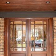 A gorgeous ThermaTru entry way door