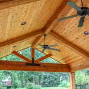 custom outdoor room ceiling