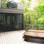 Sun decks and under deck screen room