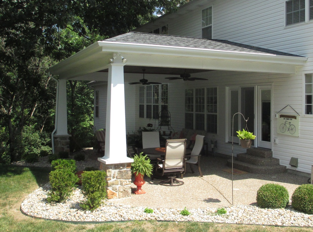 Patios Porches Amp Pergolas Outdoor Rooms Chesterfield