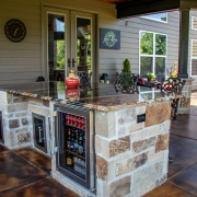 customizable outdoor kitchen