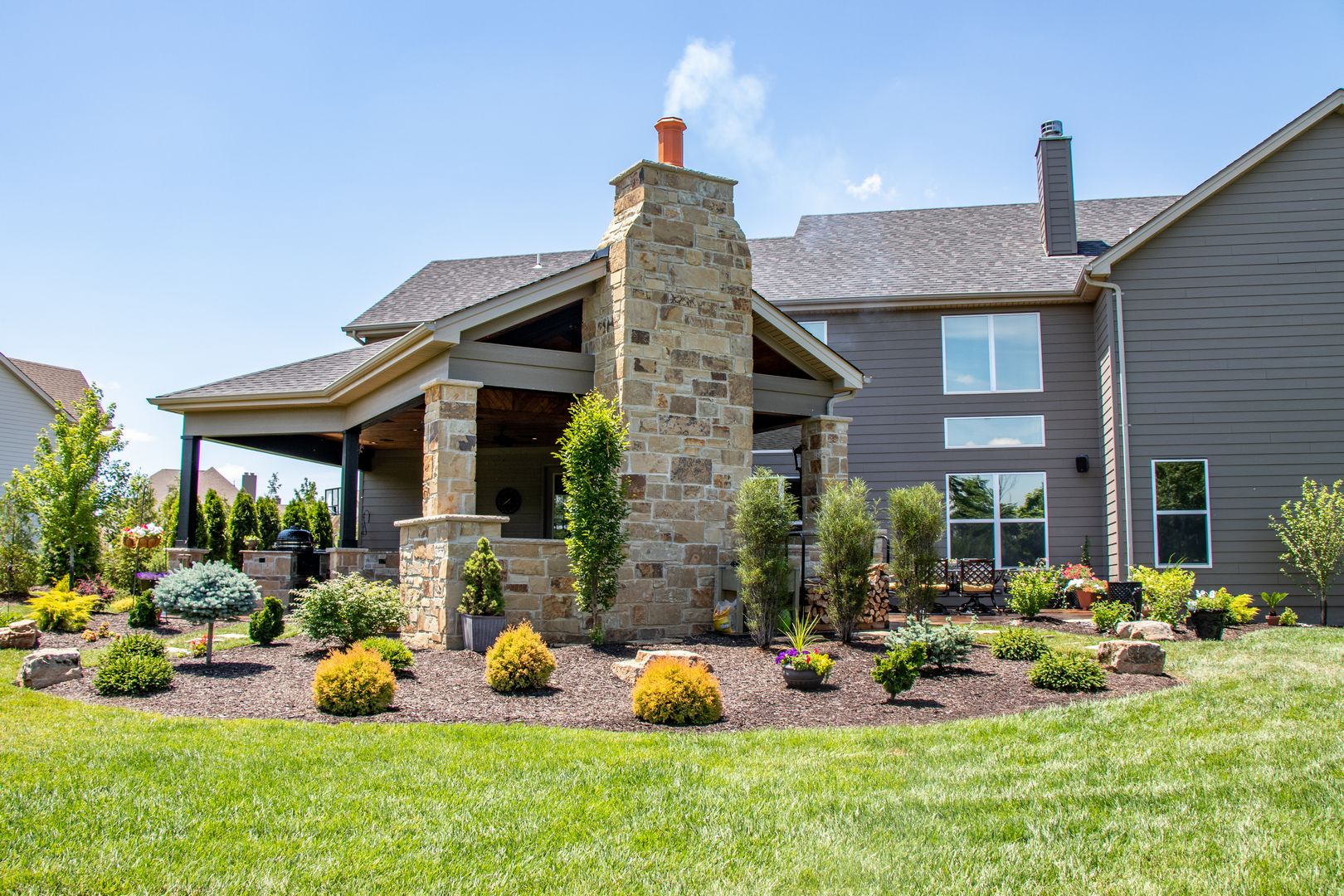 outdoor room landscaping