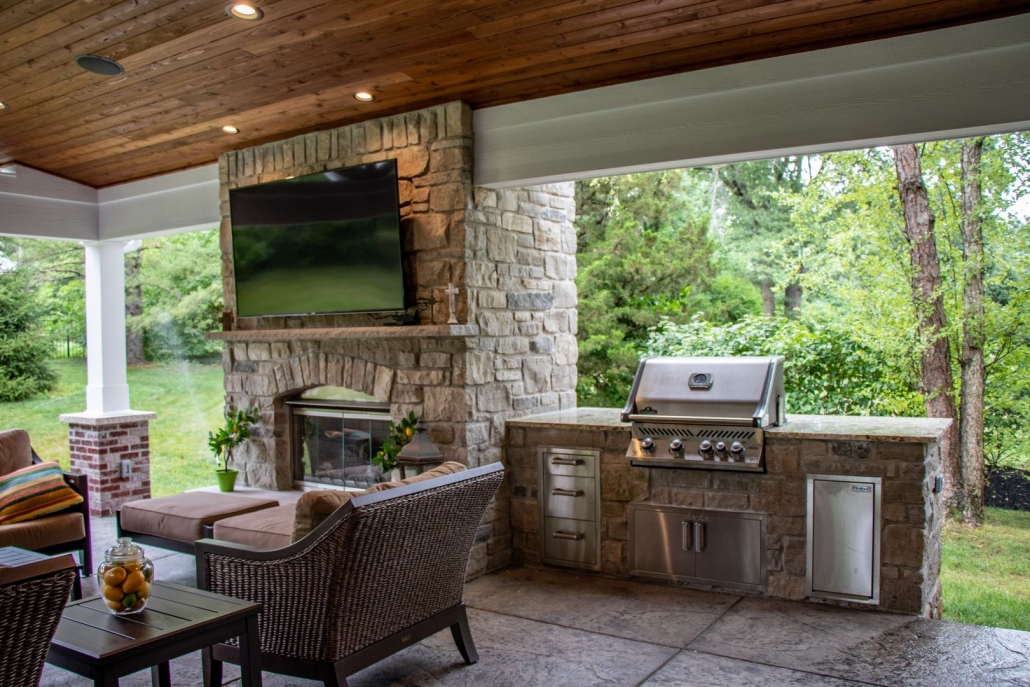 Outdoor Kitchen Areas Grilling Area Bbq Fireplaces Chesterfield