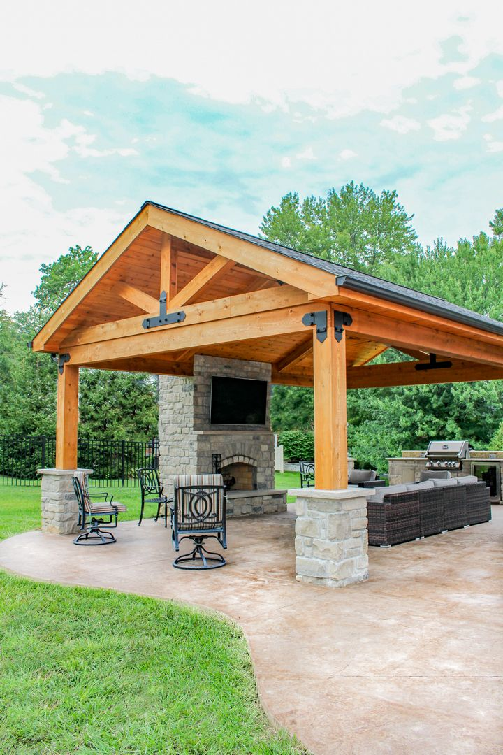 outdoor living space of the year 2019