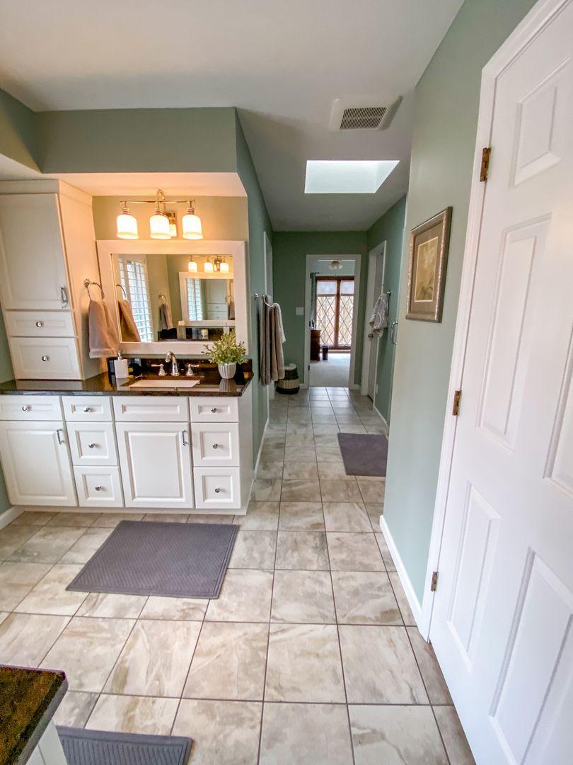 master bathroom renovation after
